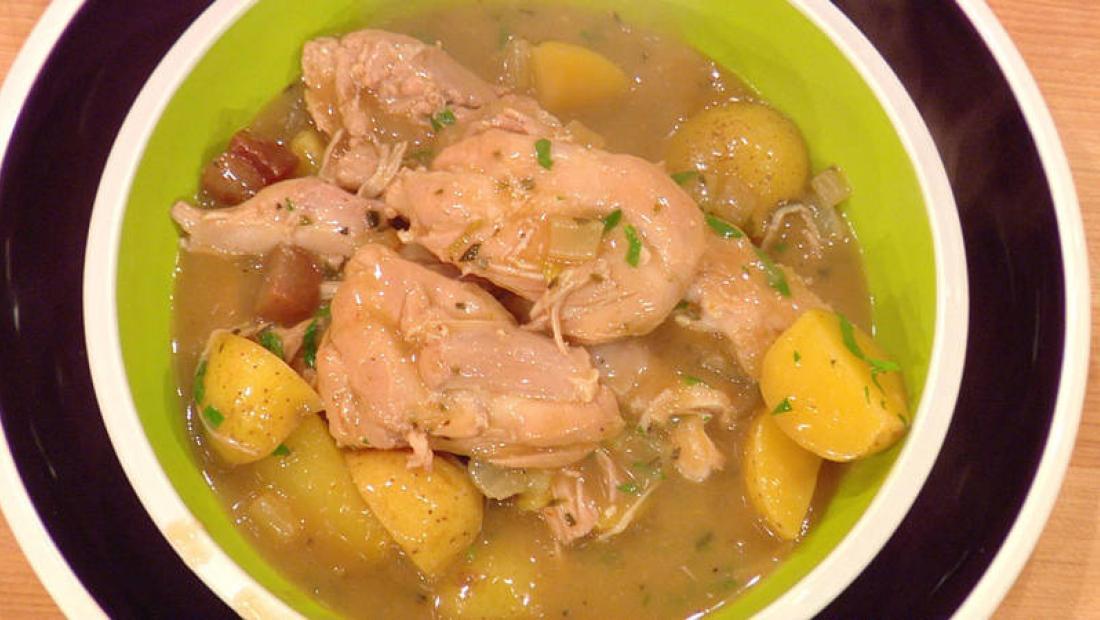 Umami Chicken Stew Rachael Ray Show