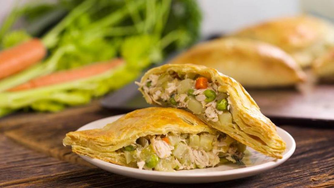 Chicken Pot Pie In A Pocket Rachael Ray Show