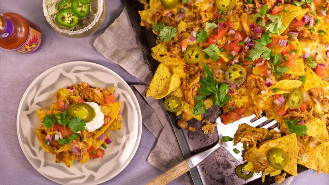 Chipotle Chicken Nacho Casserole Rachael Ray Show