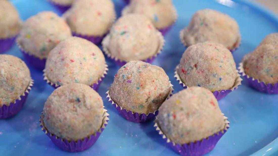 Milk Bar Birthday Cake Truffles