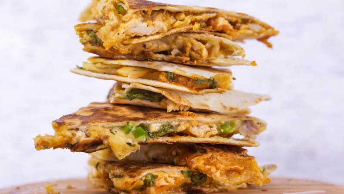Barbeque Chicken Quesadillas Rachael Ray Show