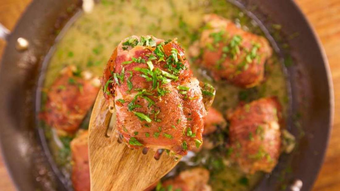 Prosciutto Roasted Chicken Piccata Rachael Ray Show