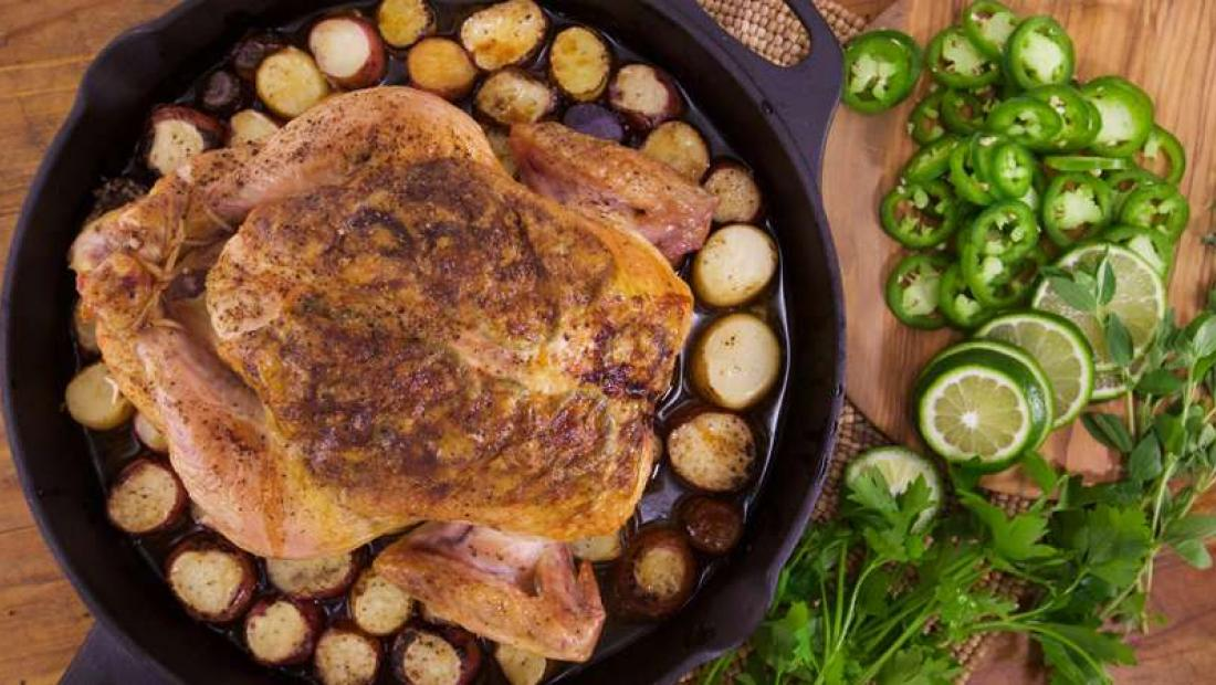 Jalapeno Roasted Chicken Rachael Ray Show