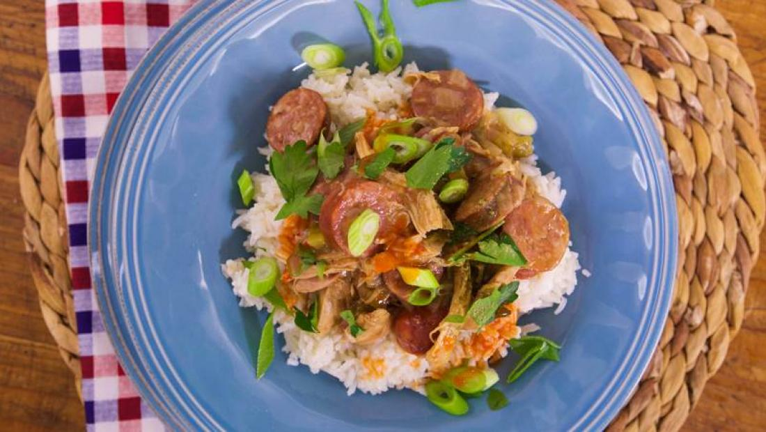 Chicken And Andouille Gumbo Rachael Ray Show