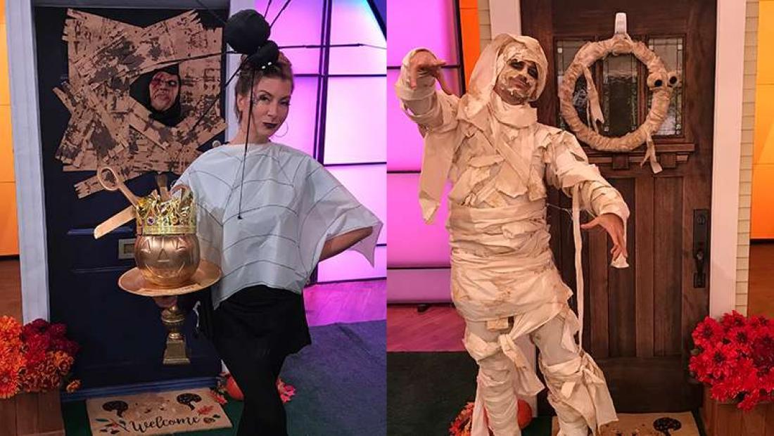 dollar store diy halloween costumes