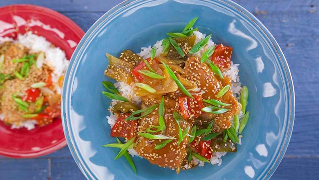 Slow Cooker Sweet And Sour Chicken Rachael Ray Show