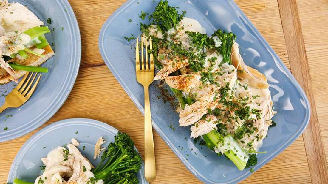 Chicken Divan Upgrade Rachaels Chicken Mornay With Broccolini On