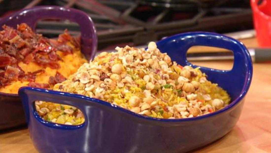 Orange Saffron Scented Rice Salad With A Hint Of Hazelnut Rachael Ray Show