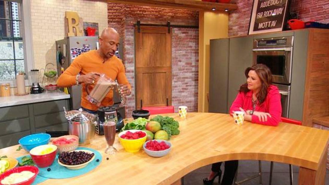 Montel Williams Green Smoothie Rachael Ray Show