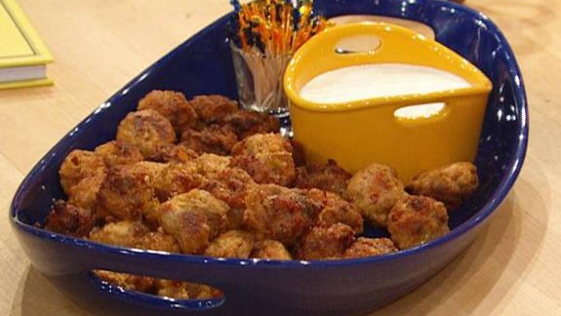 The Meatball Shop's Mini Buffalo Chicken Balls
