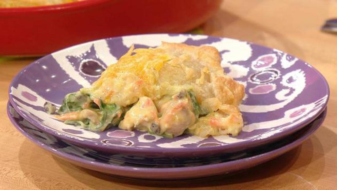 Clinton Kellys Chicken Divan Pie Rachael Ray Show