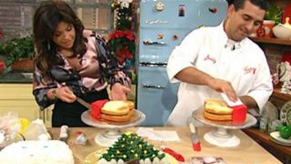 Vanilla Cake The Cake Boss Rachael Ray Show