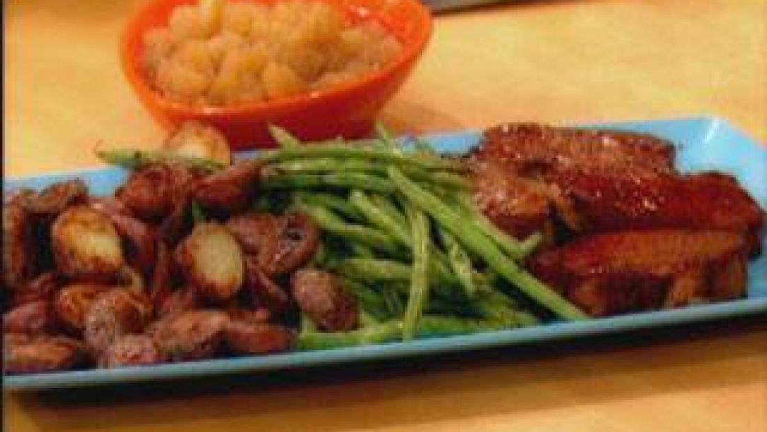 Pork Chops Applesauce Rachael Ray Show