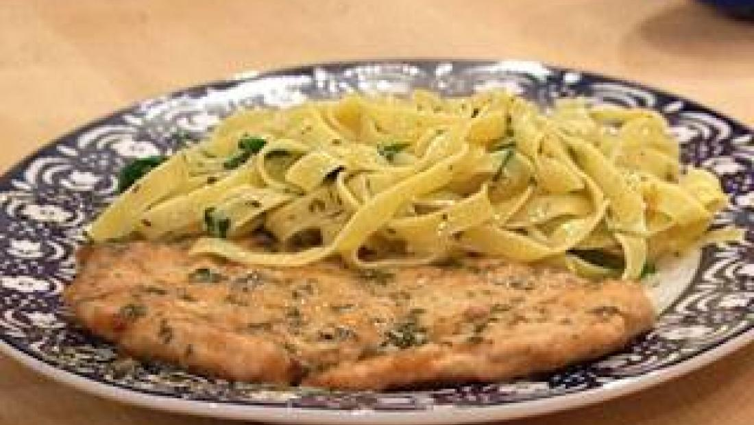 Chicken Francese With Gremolata Rachael Ray Show