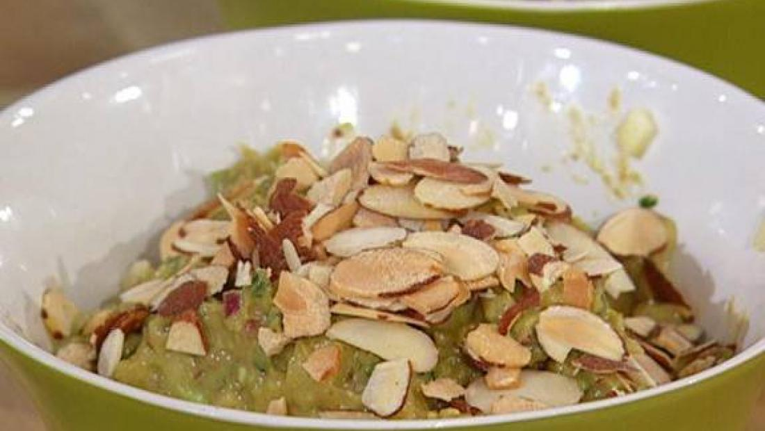 Apple and almond guacamole rachael ray show