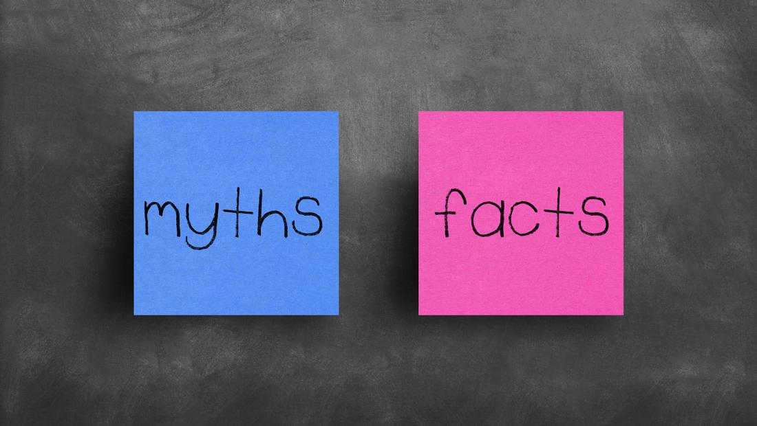 Myths or Facts Sticky Notes