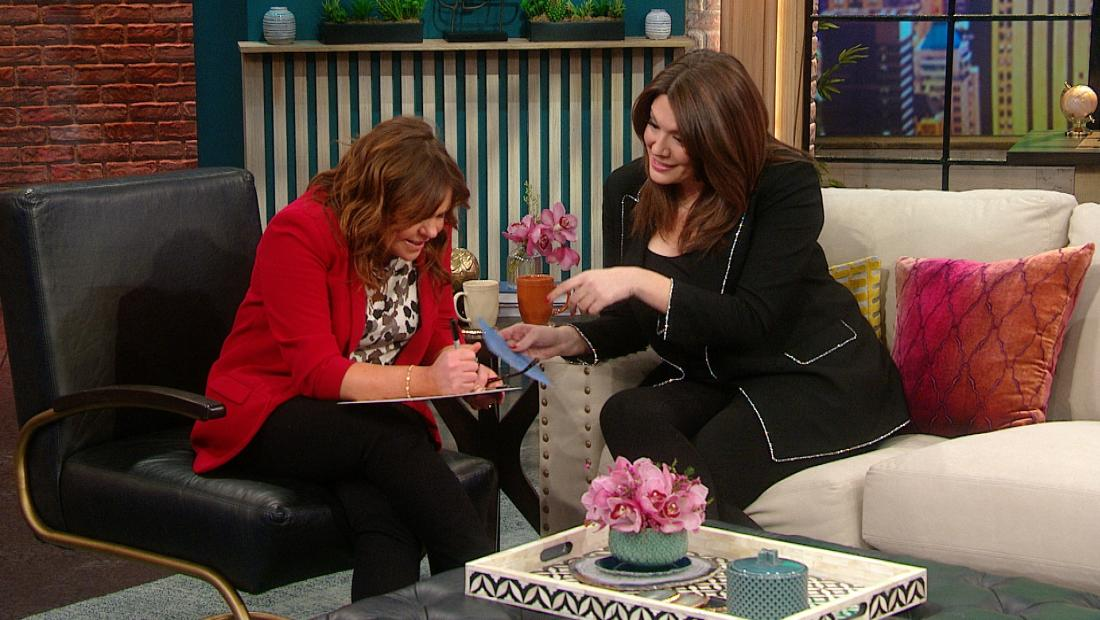 Rachael Ray and Michelle Collins
