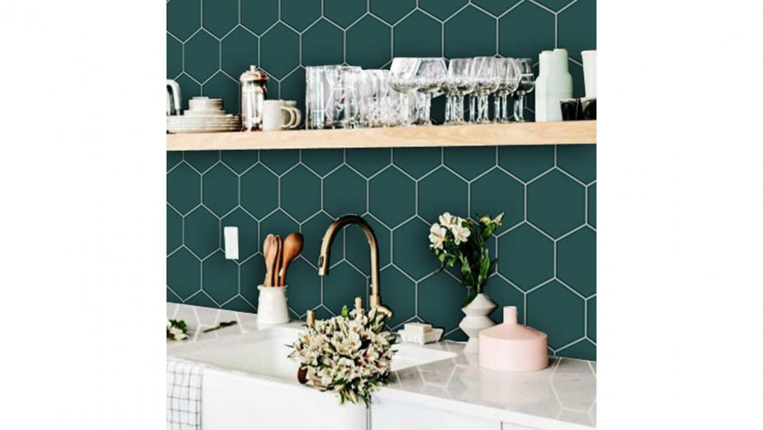 Best Peel And Stick Backsplash Tiles Editor Picks For Kitchen Bathroom And Laundry Room Rachael Ray Show