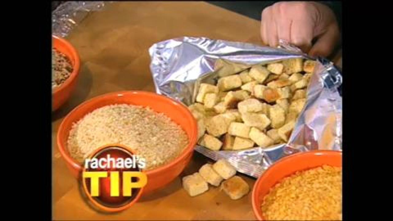 Rachael's Tip: Make Your Own Breadcrumbs With Pantry Staples