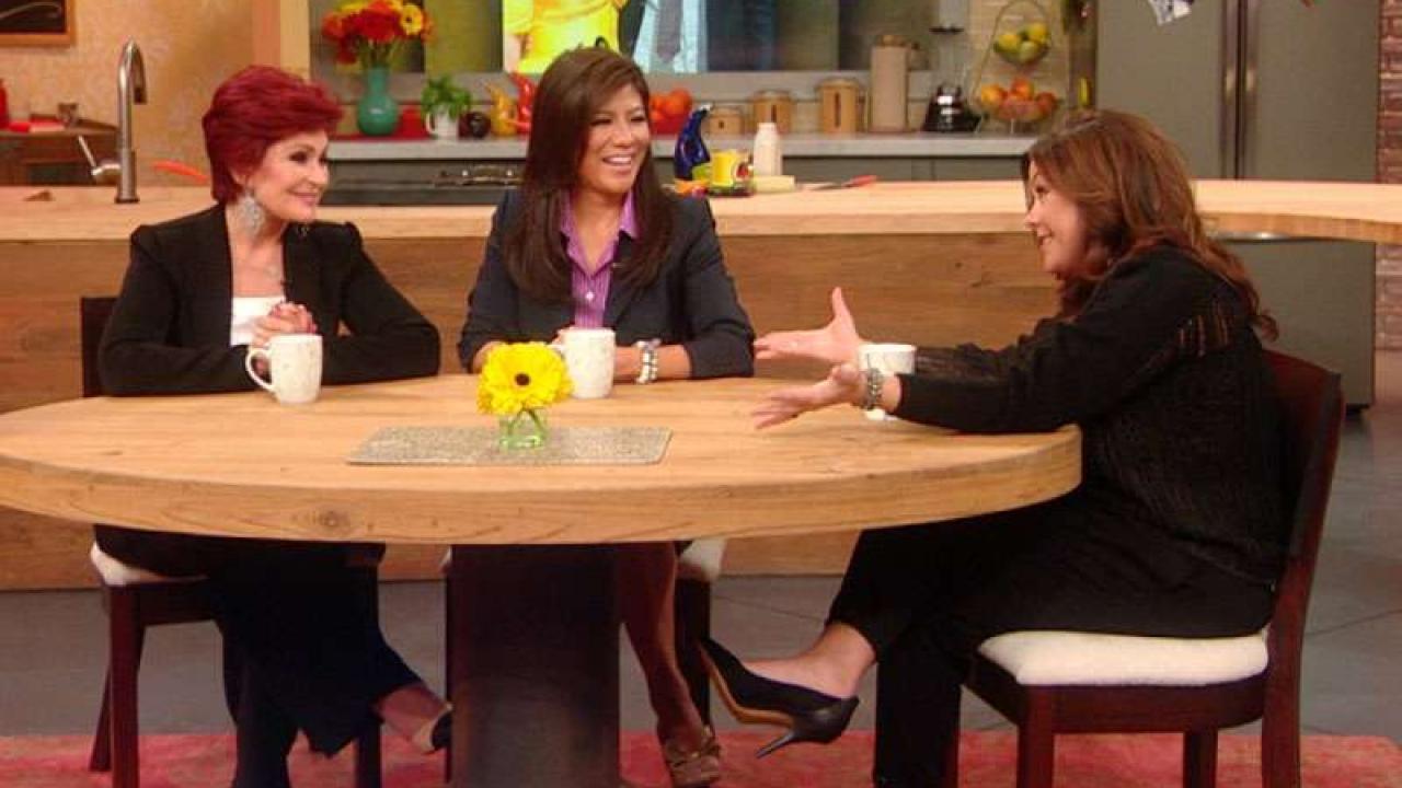 """""""The Talk's"""" Sharon Osbourne & Julie Chen"""