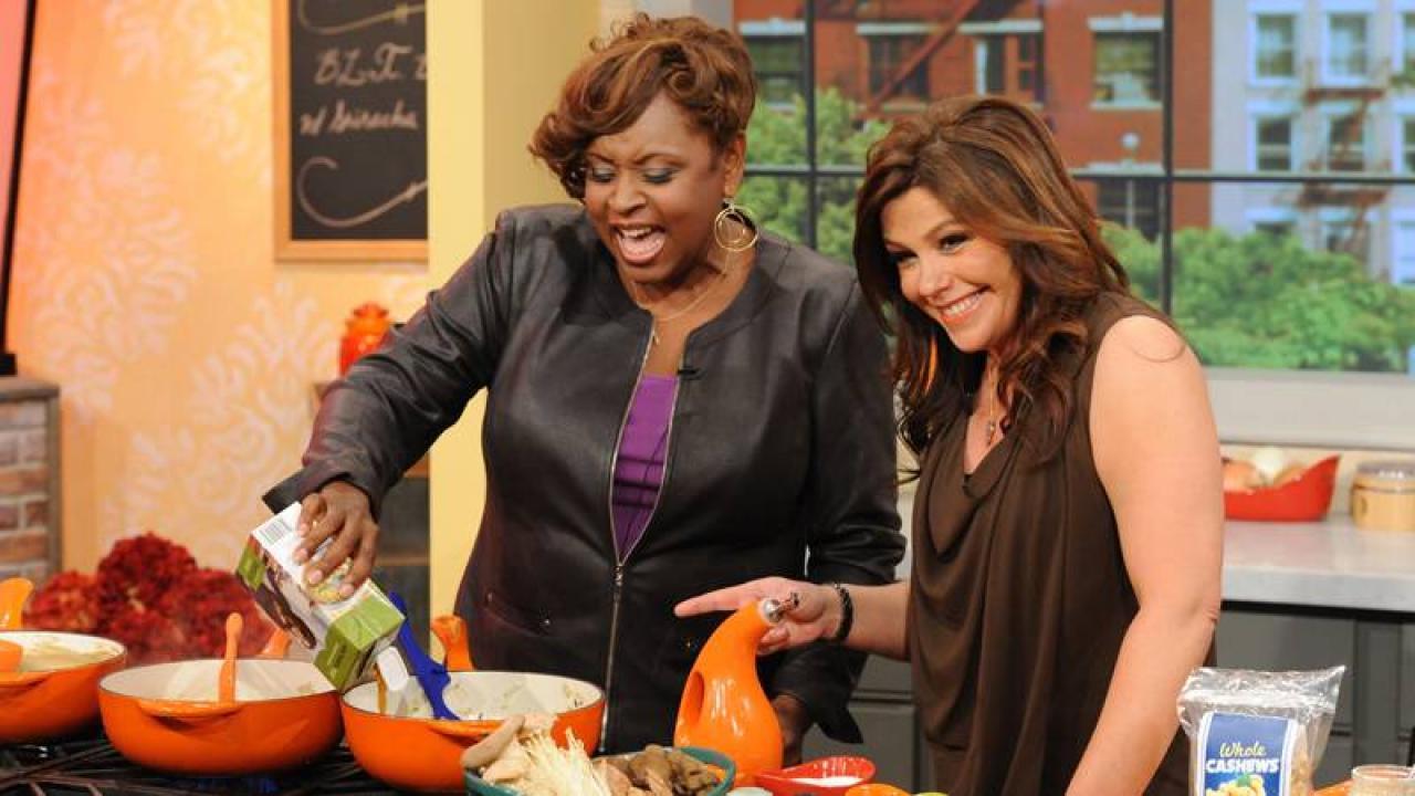 Robin Quivers Cream Of Mushroom Soup Rachael Ray Show