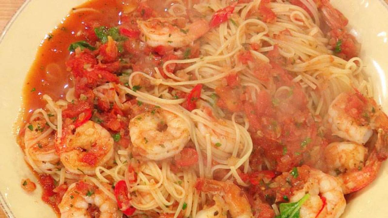 Shrimp Fra Diavolo With Linguini Rachael Ray Show