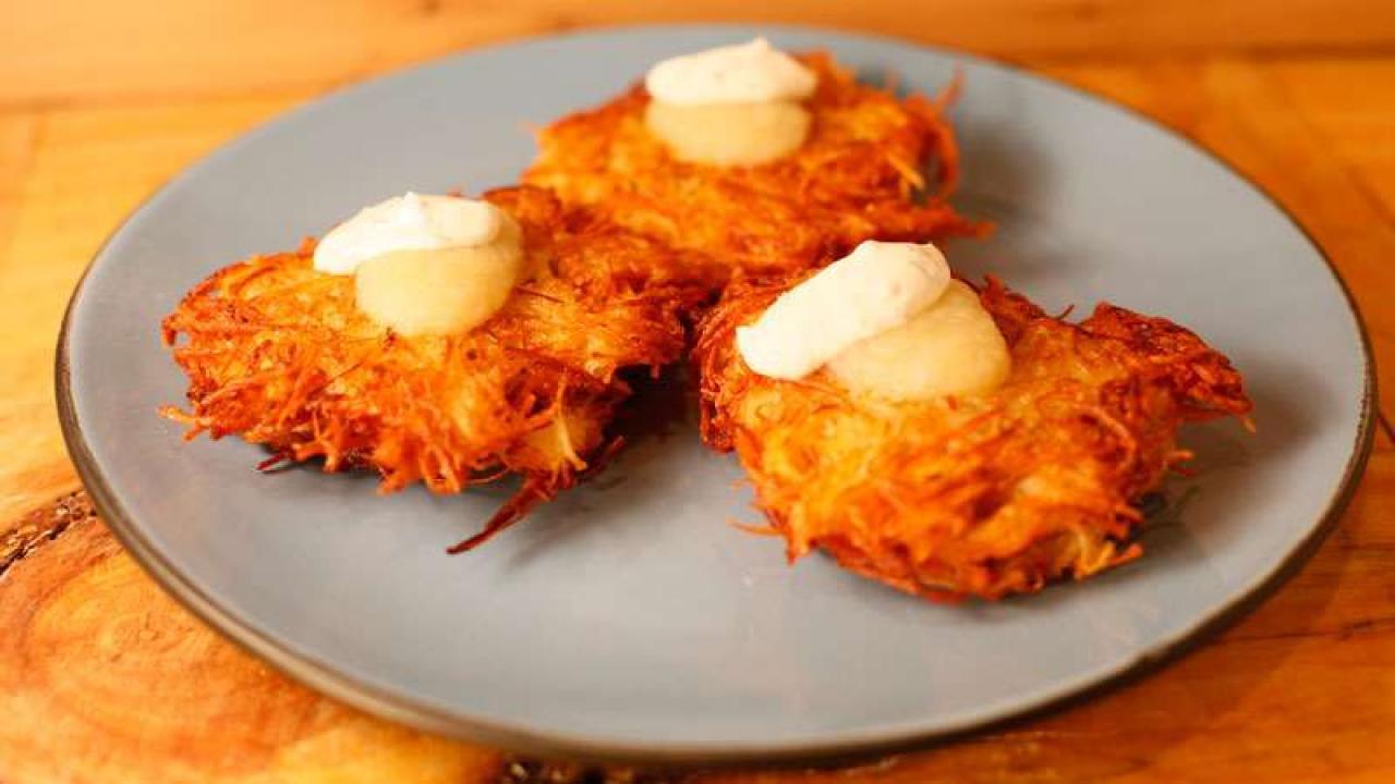 Potato Vegetable Pancakes | Rachael Ray