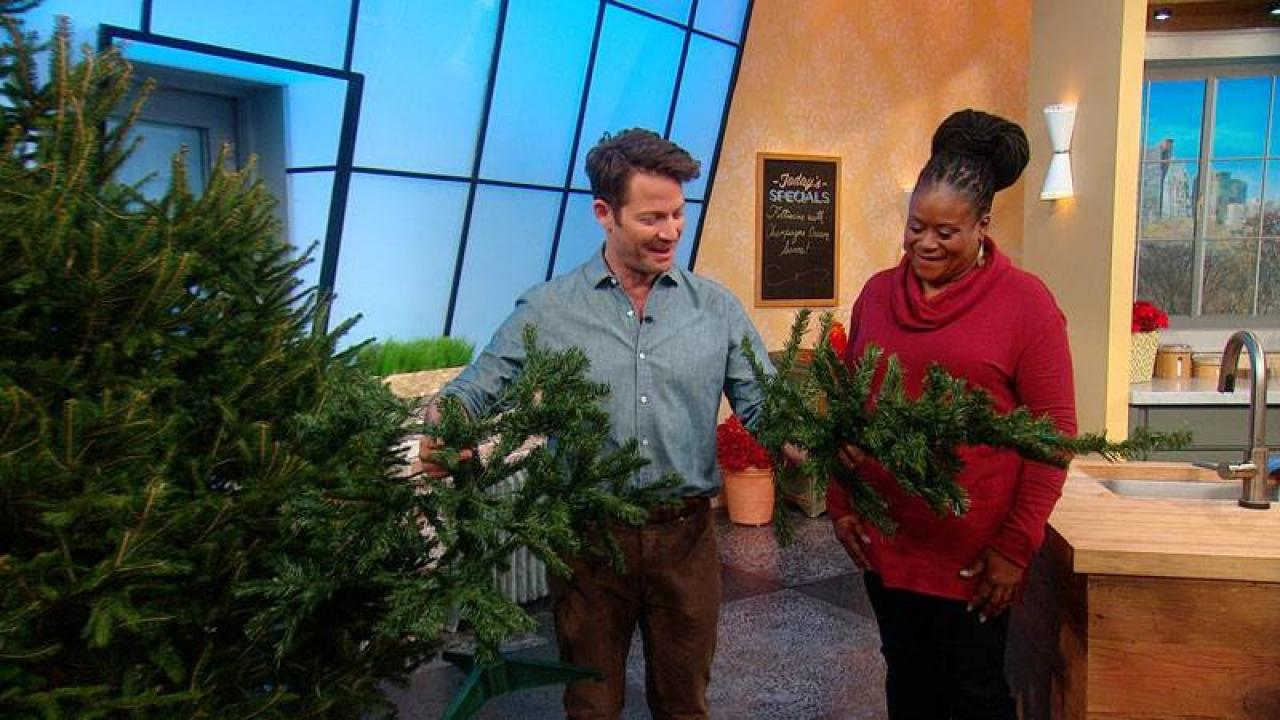Nate Berkus Holiday Decor Tips Rachael Ray Show