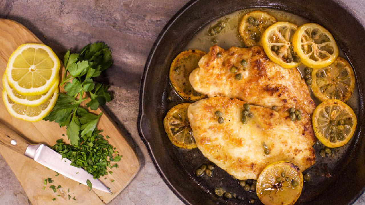 Chicken Piccata Rachael Ray Show