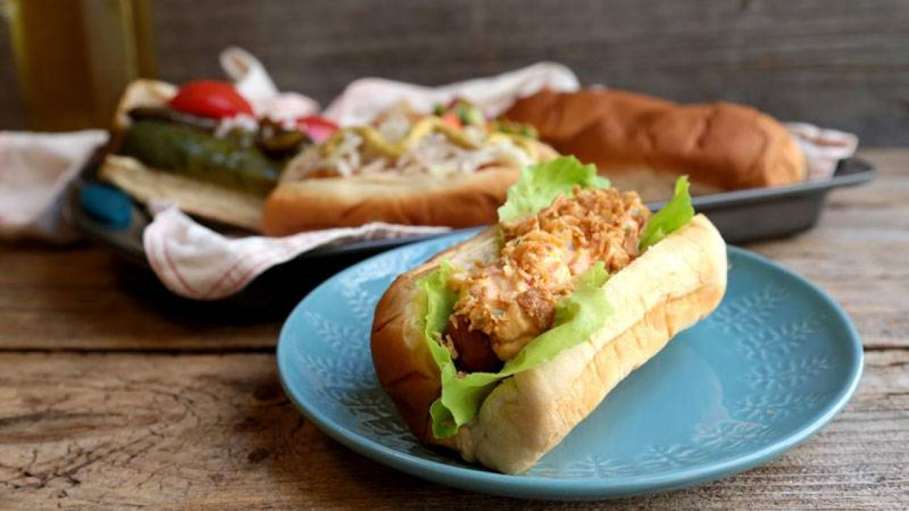 Pimento Cheese Hot Dogs Rachael Ray Show
