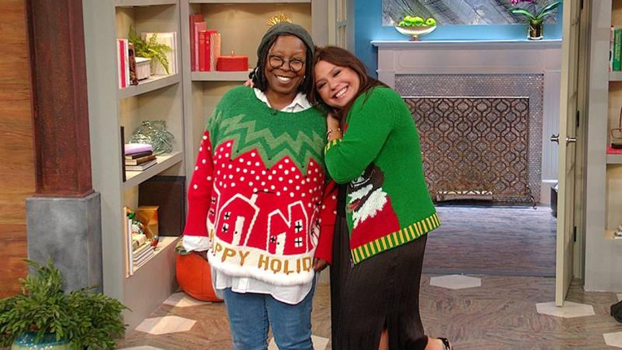 Whoopi Goldberg On Her Amazing Holiday Sweaters Why You Should Spoil Kids Rachael Ray Show
