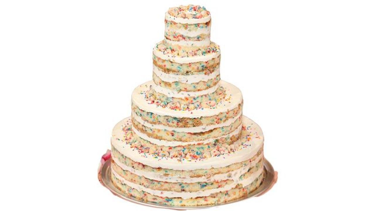 Terrific Milk Bars Classic Birthday Cake Rachael Ray Show Funny Birthday Cards Online Fluifree Goldxyz