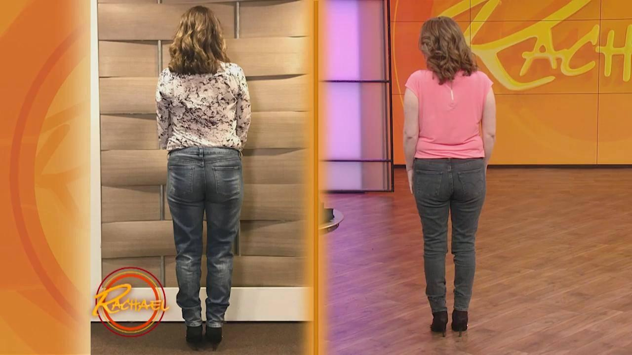 How To Find The Perfect Pair Of Jeans To Flatter A Square Derriere Rachael Ray Show