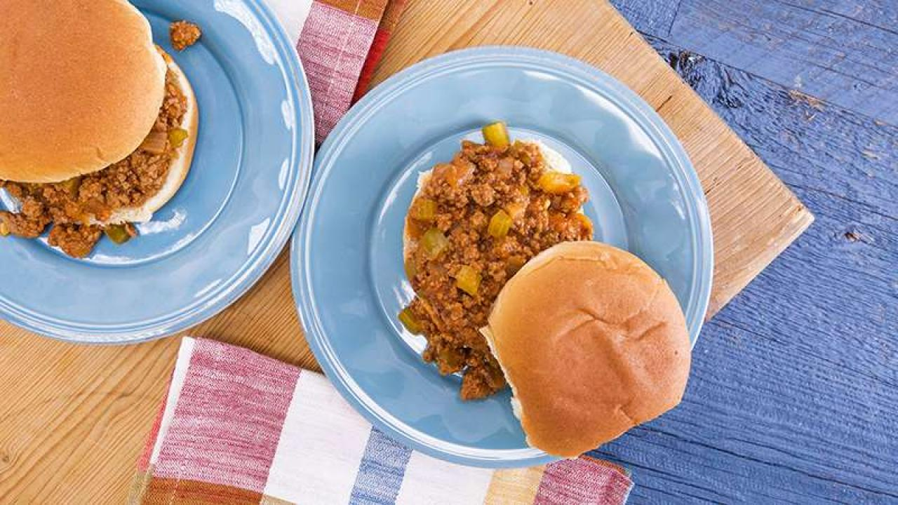 Slow-Cooker Sloppy Joes   Rachael Ray Show