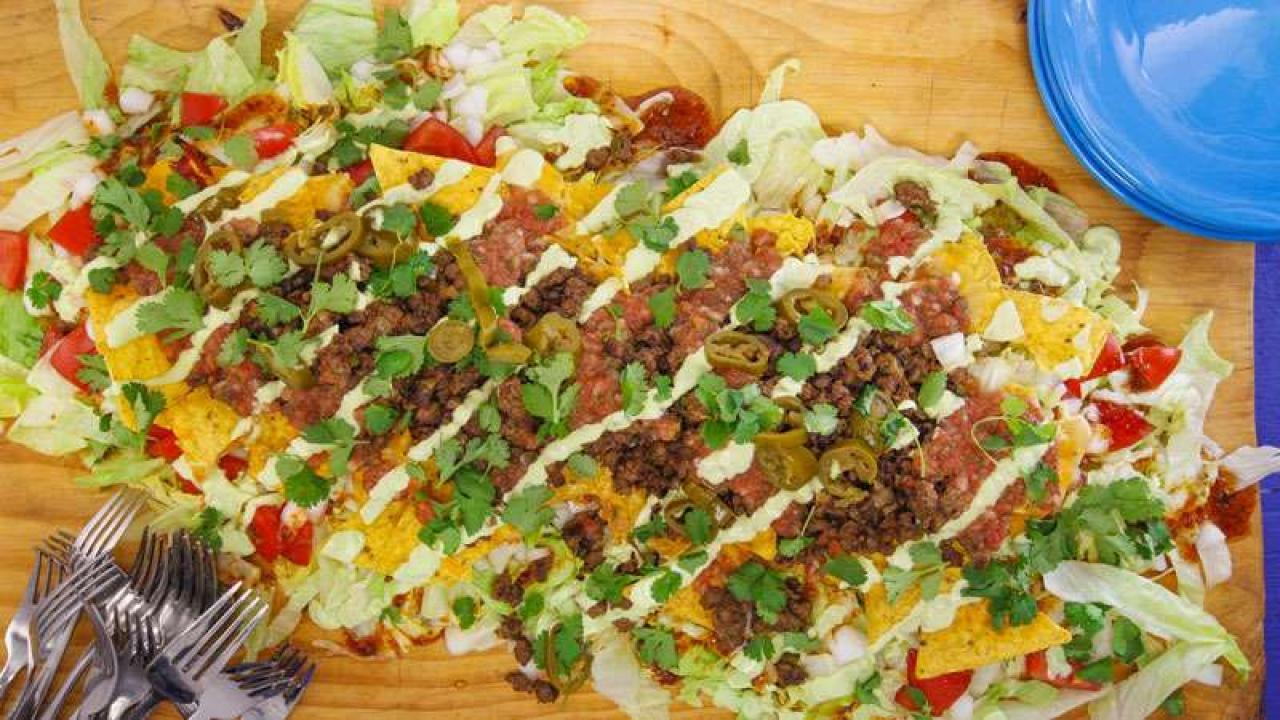 Nacho Average Taco Salad Rachael Ray Show