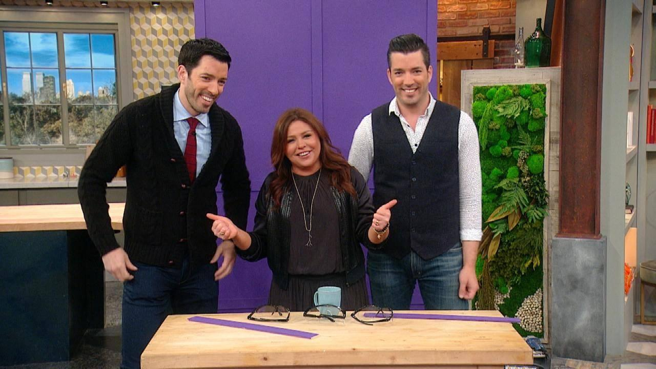 Hgtv S Property Brothers Show You How To Diy 3 Of Their Favorite New Design Trends For 2018 Rachael Ray Show