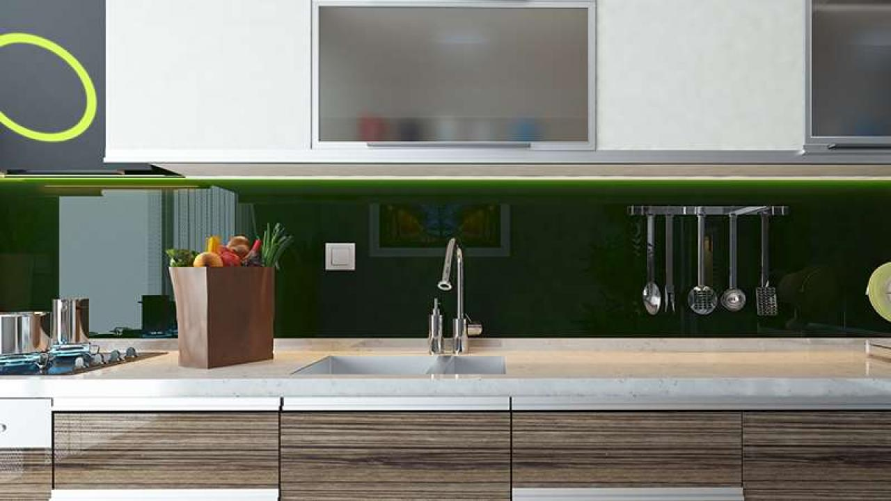 - How To Install A Modern Glass Backsplash (with Just Spray Paint