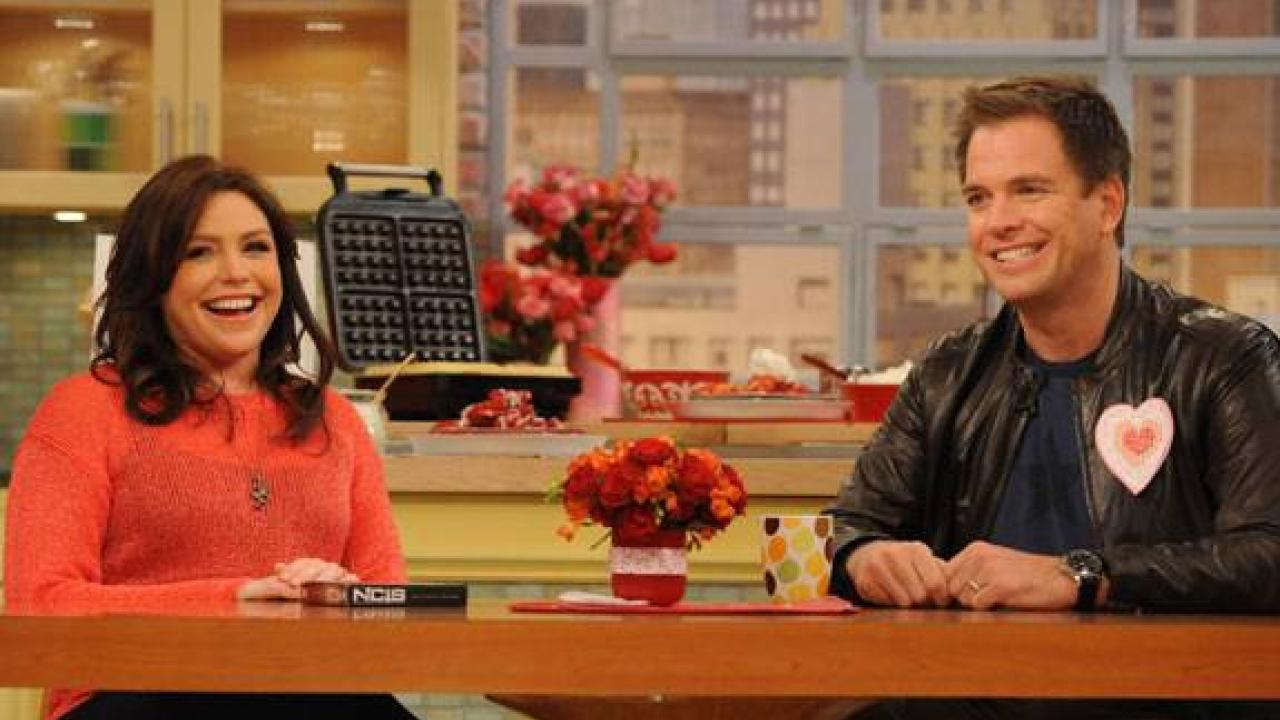 Wedding Photos From Ncis Michael Weatherly Rachael Ray Show