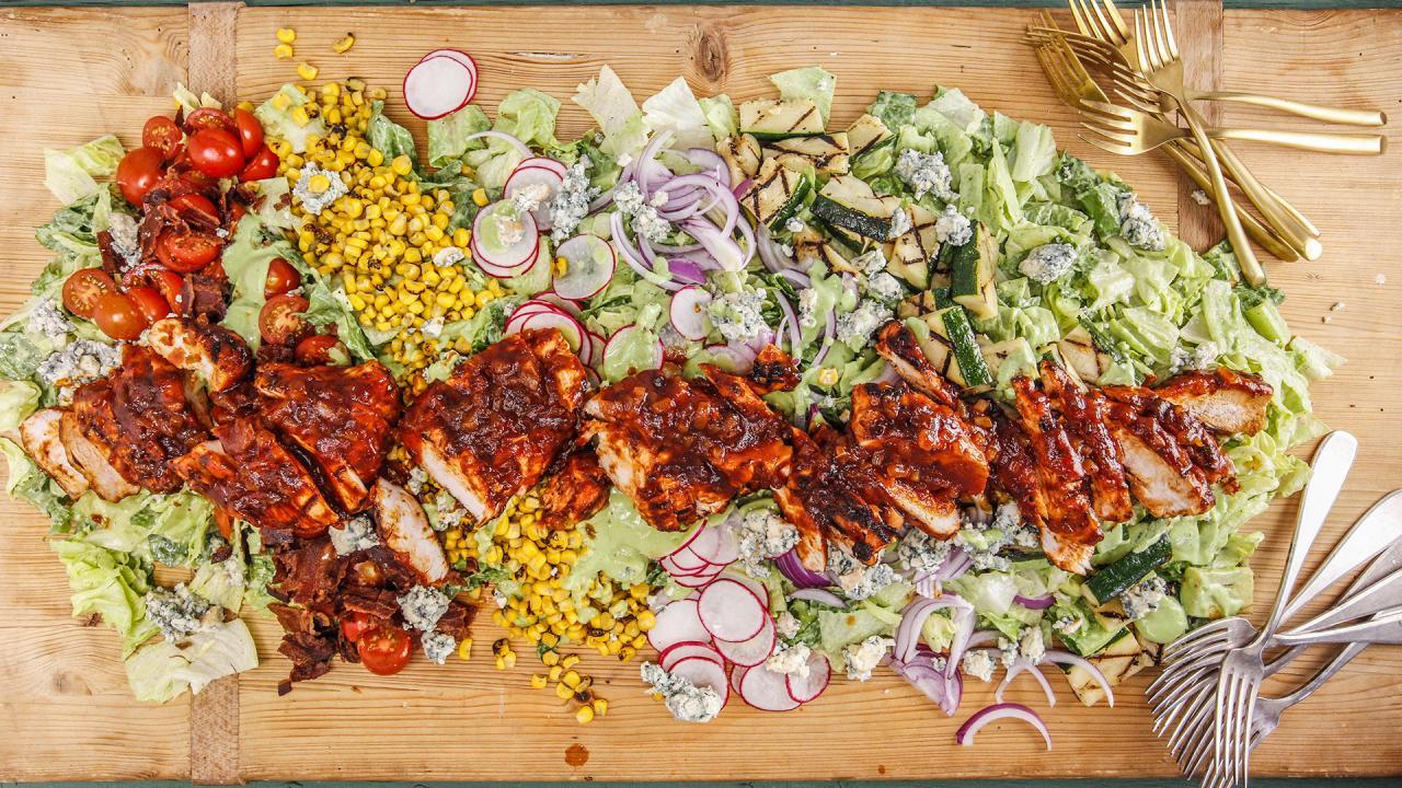 Statement Salad Rachael S Chipotle Chicken Cobb With