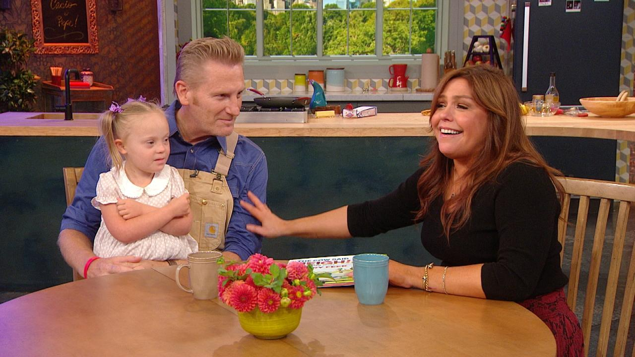 Country Music Star Rory Feek And His 4 Year Old Daughter Indiana Tell Rachael About Their New