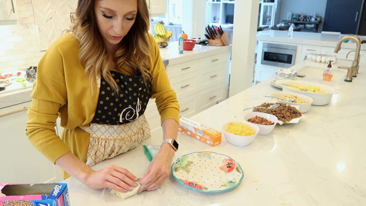 Watch Self Proclaimed Frugal Queen Jordan Page Make An Entire Month S Worth Of Breakfast In One