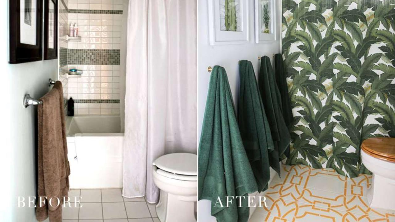 A Genius Easy Way To Update Tiles Without Removing Them In 5 Hours Rachael Ray Show