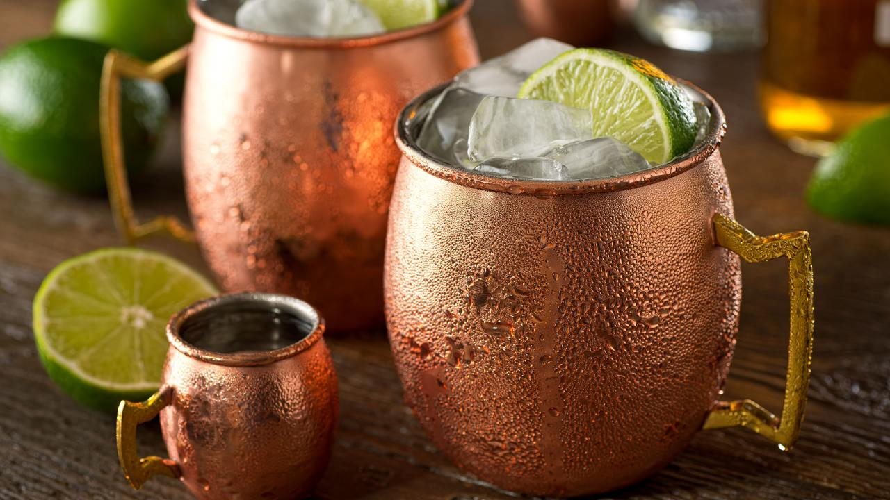 Jalisco Mule Cocktail With Metabolism Boosting Jalape 241 O