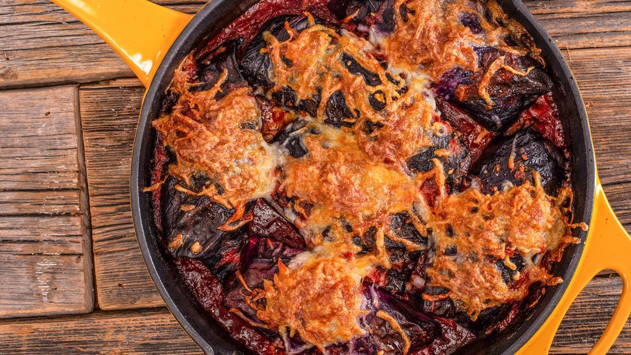 How To Make Easy Italian Purple Cabbage Rolls Rachael