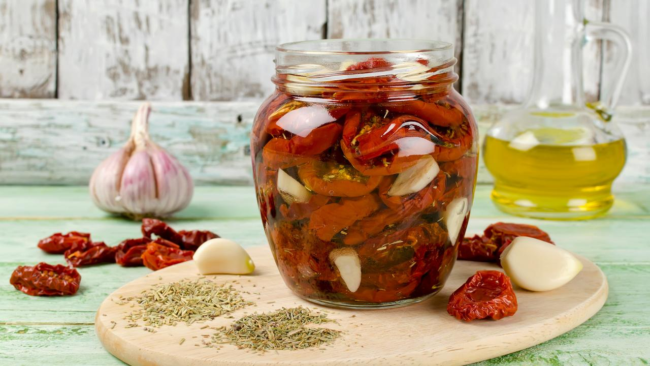 Rachael S Marinated Sun Dried Tomatoes Rachael Ray Show