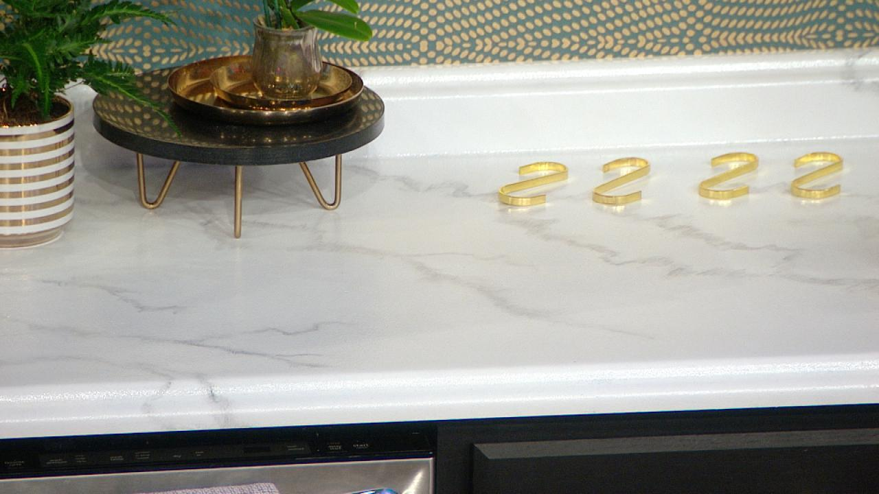 Diy Faux Marble Countertops Rachael Ray Show