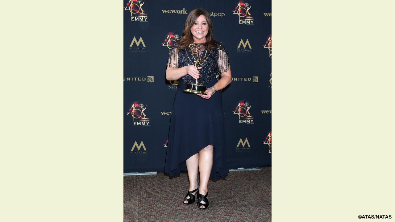 We Won Outstanding Informative Talk Show At The 2019 Daytime Emmy 174 Awards Rachael Ray Show