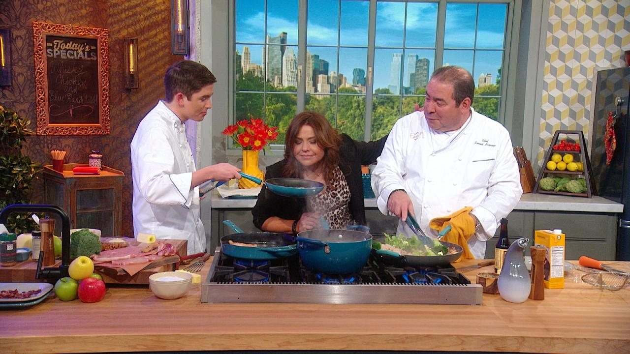 Watch Chef Emeril Lagasse + His Son EJ Compete In a 5