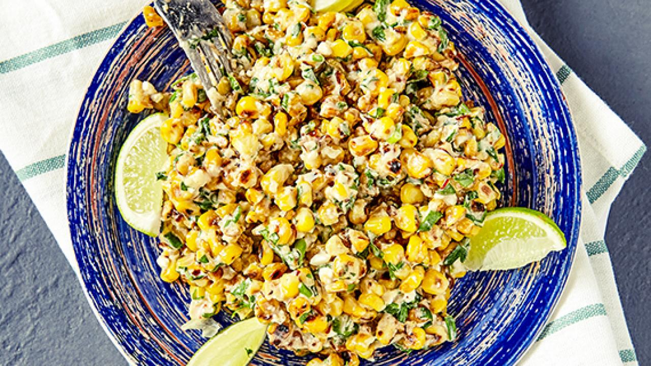 How To Make Griddled Corn Salad By Rachael