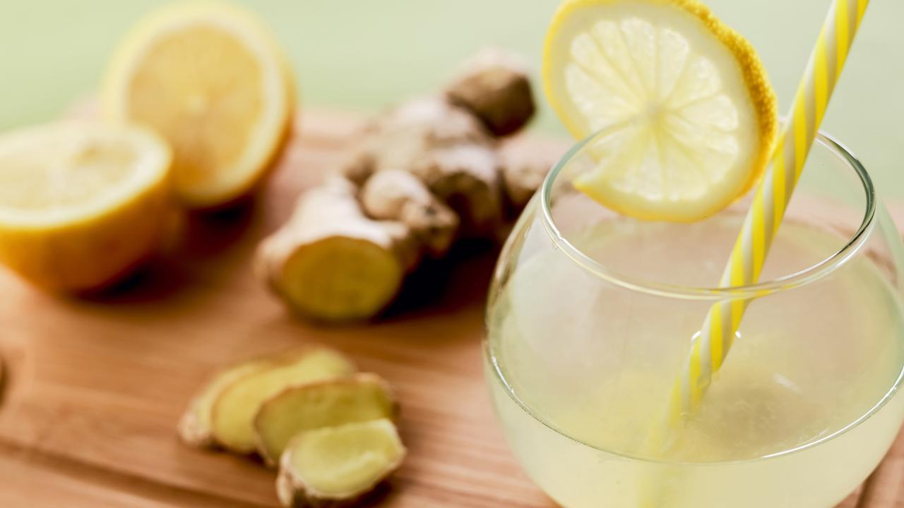 Ginger Lemonade Rachael Ray Show
